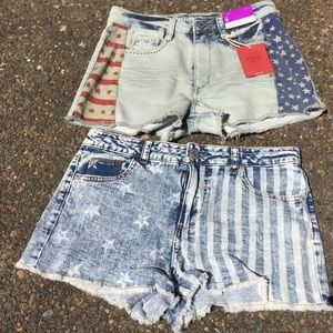 NWT Denim cut-offs 🇺🇸